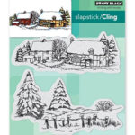 Snow Covered, 40-565, Cling-Stempel 2-teilig